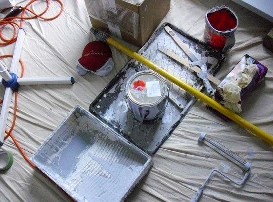 Cómo pintar una habitación, la forma de pintar una pared