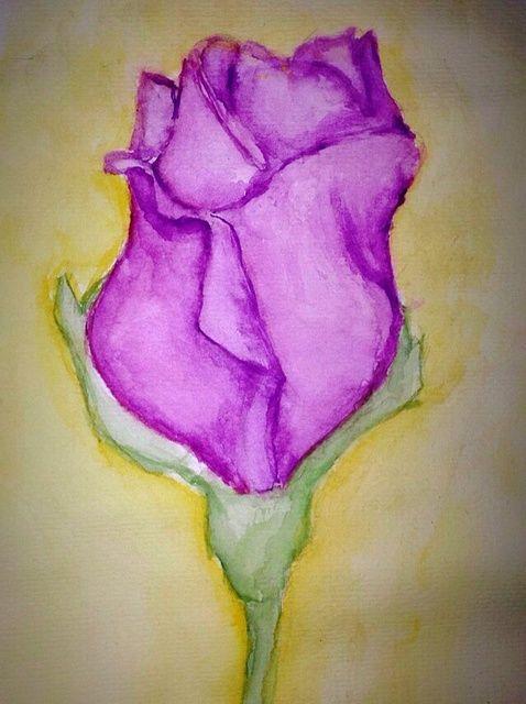 Cómo pintar una rosa