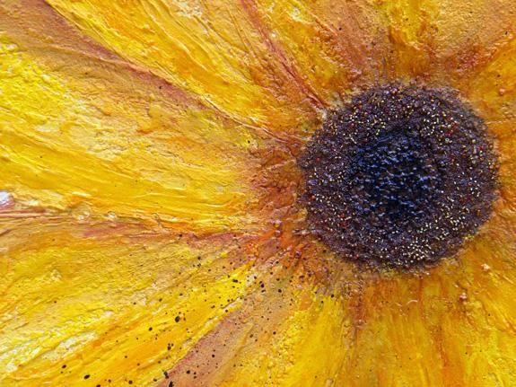Los granos de la semilla añaden porciones de textura para el centro.