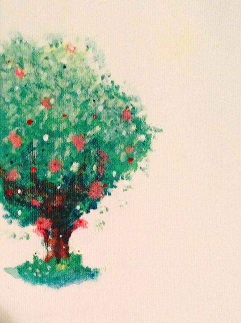 Cómo pintar un árbol ??????