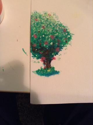 añadir un poco de hierba y más colores o todo !! y ahi's ur finished pic