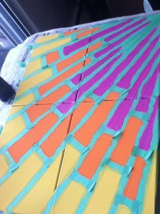 Pintar la superficie expuesta, dando capas segunda y / o tercera si es necesario para una buena cobertura.