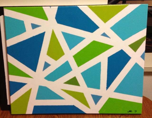 Alyssa Cardi creó esta hermosa pieza. Me encantan los colores!