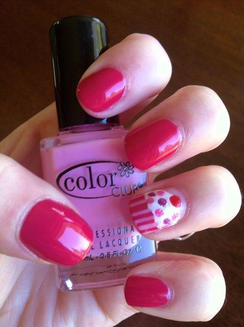Fotografía - Cómo pintar las uñas de la magdalena