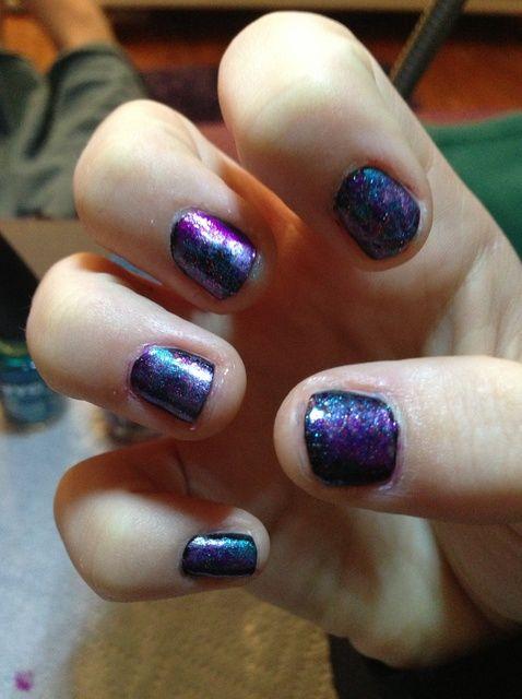 Fotografía - Cómo pintar Galaxy Nails