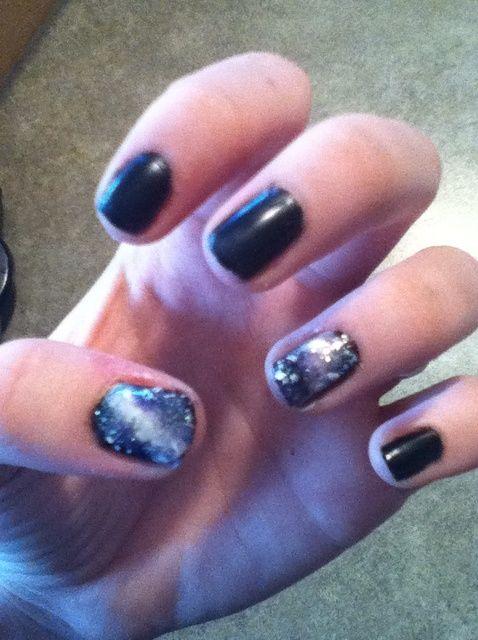 Fotografía - Cómo pintar Galaxy Nails!