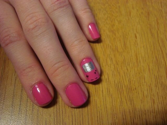 Cómo pintar Gameboy Nails