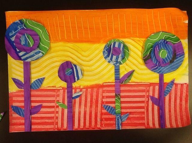 Cómo pintar en el estilo de Hundertwasser. opcion 2