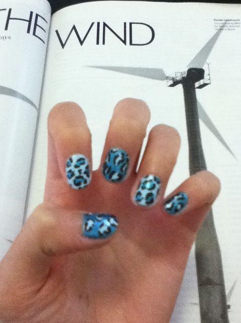 Fotografía - Cómo pintar estampado leopardo Nails