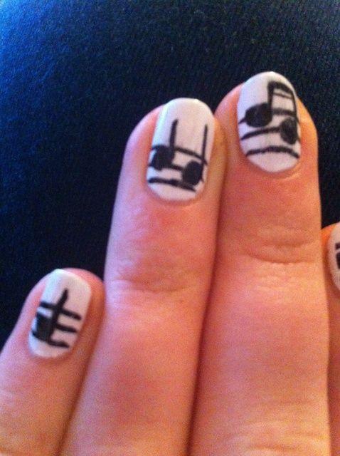 Fotografía - Cómo pintar Musical Nails
