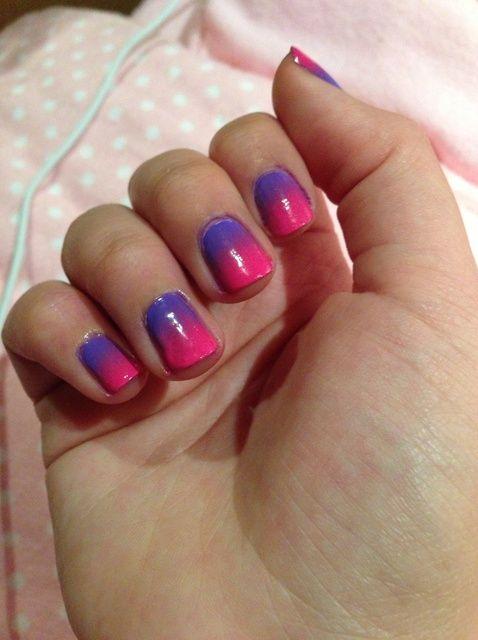 Fotografía - Cómo pintar Ombre Gradient Nails