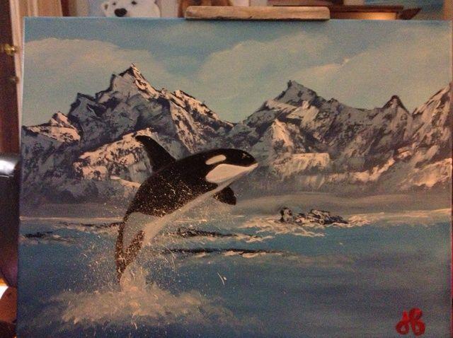 Fotografía - Cómo pintar con los dedos de la orca