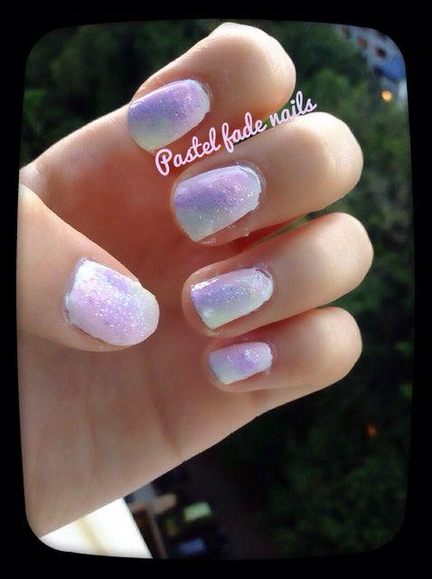 Cómo pintar en colores pastel de la primavera Nails ???????????? (sin fotos Editar: P)