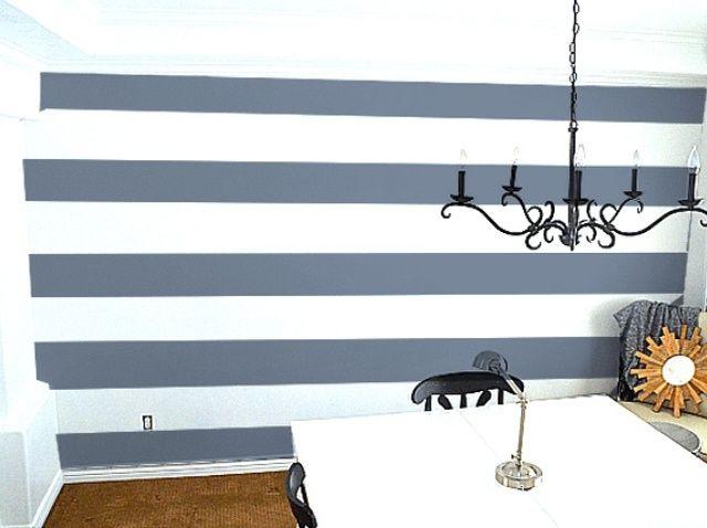 Fotografía - Cómo pintar Perfect rayas pared