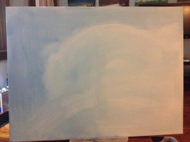 En la zona en la que el oso polar es, me froté con la forma básica utilizando líquido blanco puro.