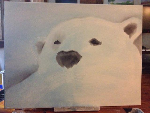Bloquear en la nariz osos para que pueda oler un sello :)