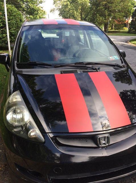 Fotografía - Cómo pintar rayas que compiten en su coche