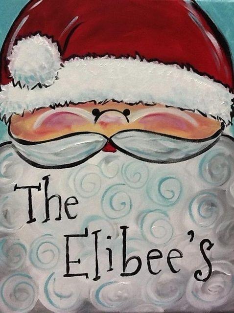 Cómo pintar Santa Claus