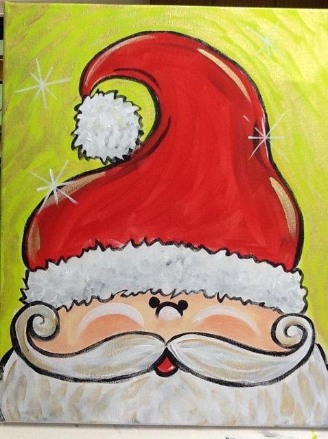Cómo pintar de Santa