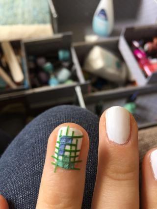 Rellena algunas de las plazas con formas tetris usando diferentes colores- ser creativo!