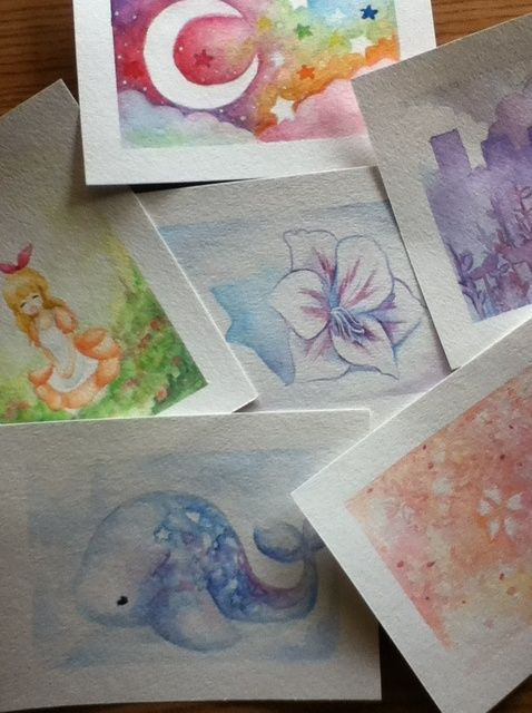 Cómo pintar con acuarelas