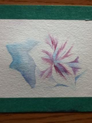 También empiezo a añadir más detalles en la flor.