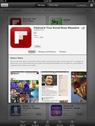 FLIPBOARD: Periódico / app Revista