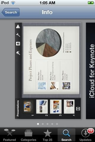 MAGISTRAL es una aplicación maravillosa presentación para iOS. Esto es de Apple