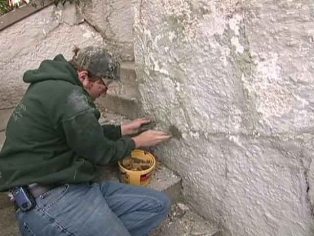 Concreto Quick Set utiliza para aplicar patches de albañilería Paredes