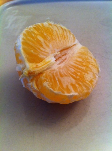 Cómo pelar una Receta Clementine