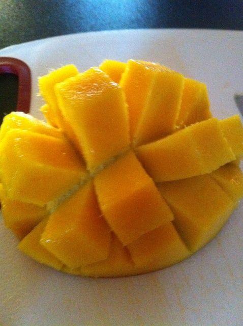 Cómo Pelar y Cortar una Receta Mango