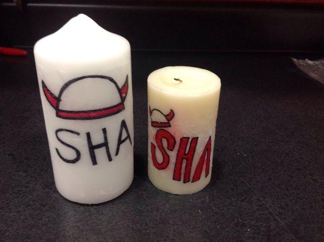 Cómo personalizar una vela