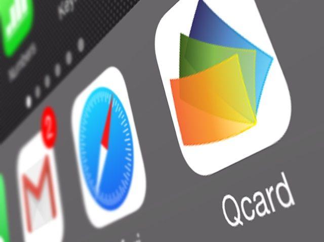 Cómo colocar Qcard en el Dock iPhone