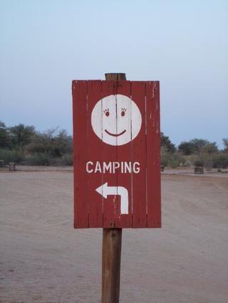 Hay una gran guía para todos los campings y parques le'll find in Namibia, Botswana and South Africa!