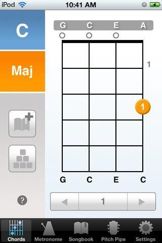 Si quieres aprender un nuevo acorde me volvería a buscarlo en google (por lo que tendría que escribir
