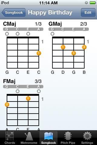 Así es como se reproducen los acordes