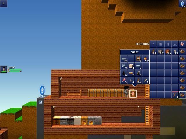 empezar a hacer una casa Awosome que usted puede poner una cama, cofres, hornos y la elaboración de tablas de todo tipo
