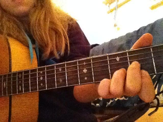 19.) Usted acaba de jugar un acorde Re Mayor!
