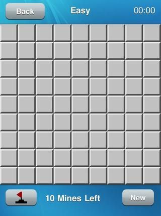 yo'm going to play an Easy/Beginner game- it's a 9x9 grid with 10 mines.