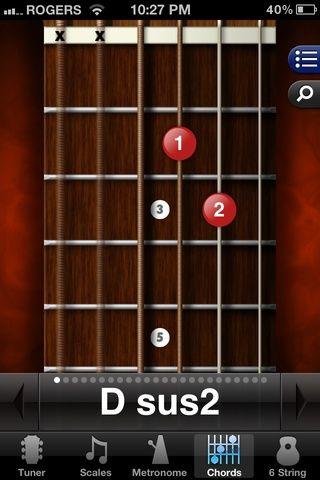 El cambio de una D a una Dsus2 es muy simple. En lugar de quitar las manos y el reposicionamiento de vuelta en apenas quitar el segundo dedo de la cuerda y seguir jugando sin problemas :)