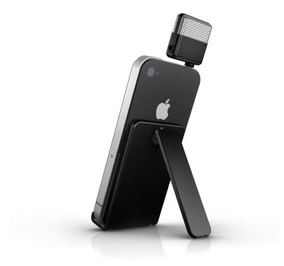 Conecte el micrófono iRig de a la toma de auriculares del iPhone.