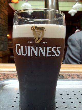 Una vez que la cerveza es negro podemos proceder con el siguiente paso.