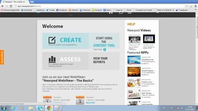 Una vez que todos los estudiantes han presentado sus respuestas, usted puede ir a nearpod.com/login y acceder a la herramienta de notificación en cualquier momento. Incluso si los estudiantes han salido de la PNP, los resultados se guardan automáticamente.
