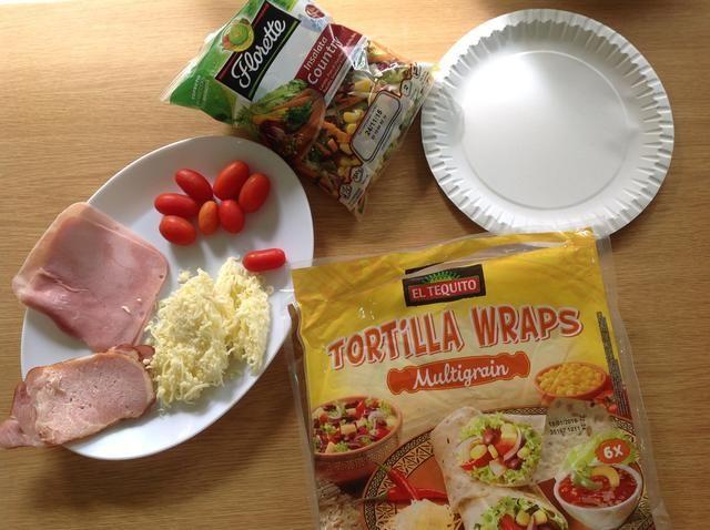 Preparar los ingredientes.