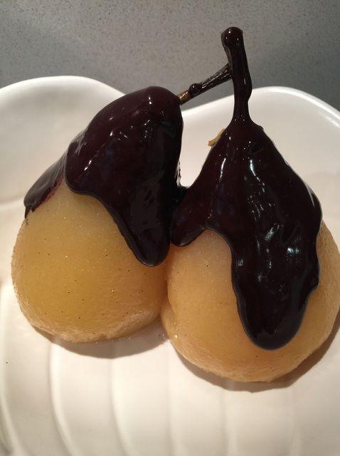 Cómo preparar'Beautiful Helene Pears' a Desert ���� Recipe