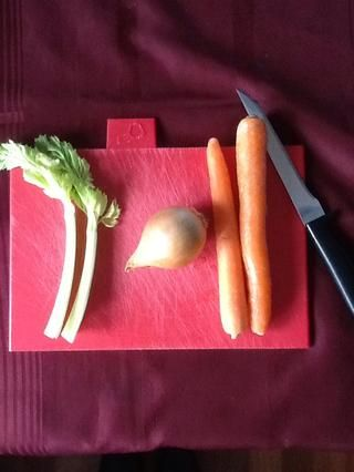 Preparar las verduras