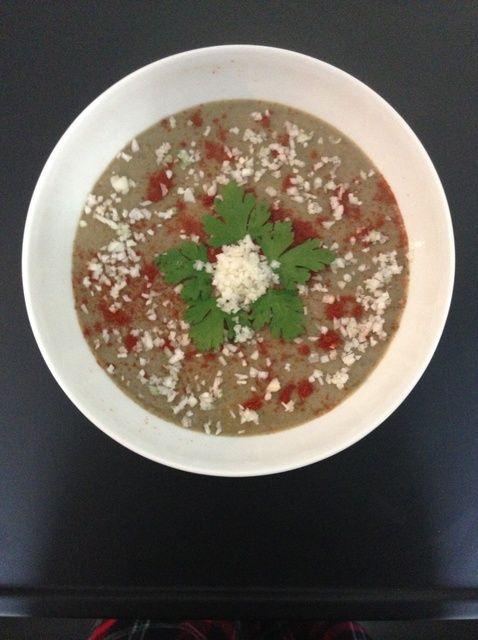 Cómo preparar sopa de lentejas ..... Receta Saludable