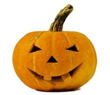 Todos los Consejos tallar artesanías de Halloween Jack-o-linterna de calabaza