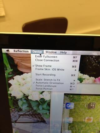 Para una presentación más profesional, maximizar la pantalla completa. ¿Quieres grabar lo que're doing?? Reflection does that too!!