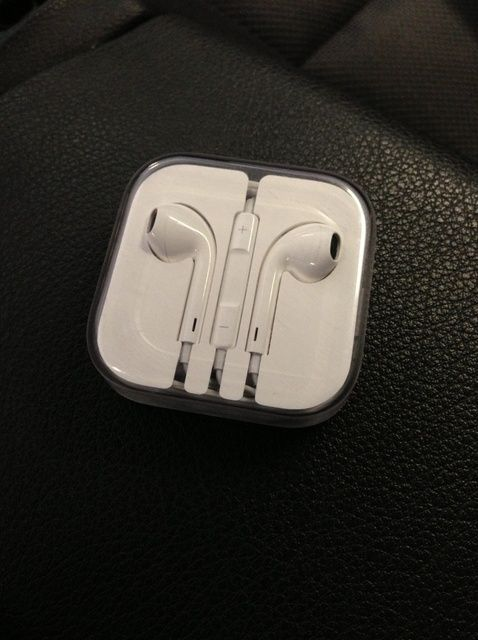 Cómo volver a Empaque bien de Apple's Earpods Back in Its Case